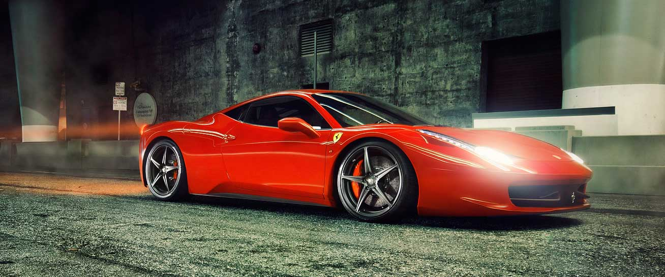 Ferrari trackers