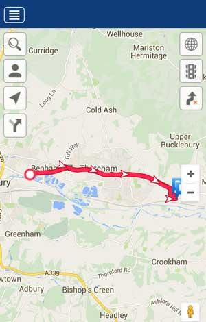 Meta Trak live tracking app