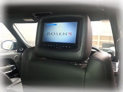 Rosen rear entertainment systems